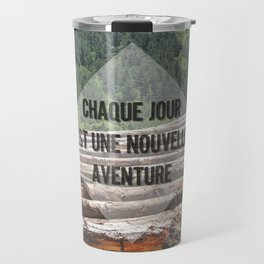 the wood factory II Travel Mug
