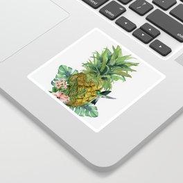 Tropical Pineapple Sticker