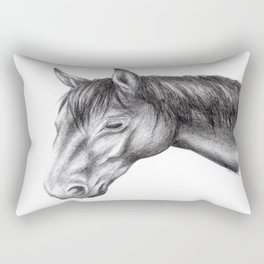 Horse Rectangular Pillow