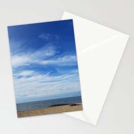 Sea and sky morning in Madison, Connecticut Stationery Cards