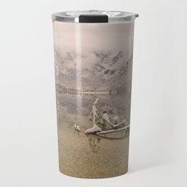 Lake Bohinj Reflection Travel Mug