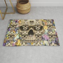 Halloween pattern of skulls Rug