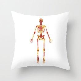 Pizza Bones Throw Pillow