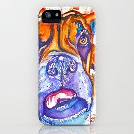 Boxer Blues (Lucille) iPhone Case