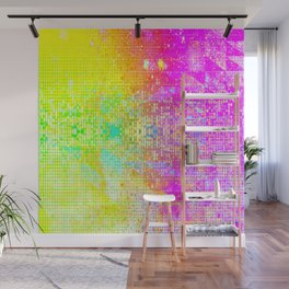 BATHROOM STRUCTURE GRADIENT Wall Mural