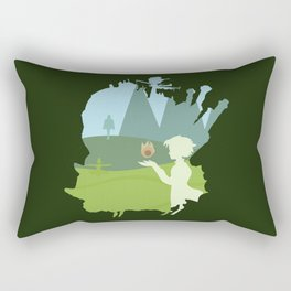 Howl's moving castle Rectangular Pillow