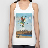 chile Tank Tops featuring Norte de Chile by i am nito