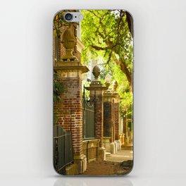 Legare Street Walk iPhone Skin