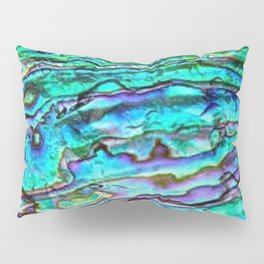 Paua Abalone Shell Pillow Sham