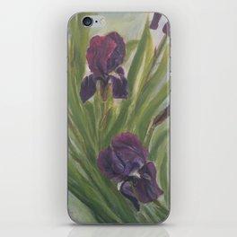 Winter Iris iPhone Skin