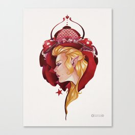 Red Fairy Canvas Print