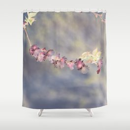 Cherry Blossom Inversion Shower Curtain