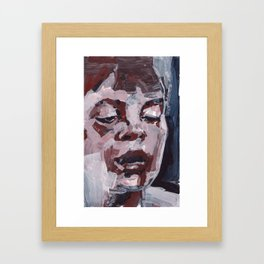 The Thought Inbetween Framed Art Print