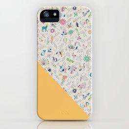 Pez Otomi yellow by Ana Kane iPhone Case