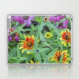 Flower Jamboree Laptop & iPad Skin