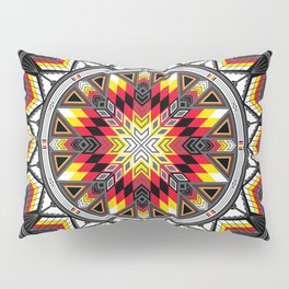 Sacred Places Red Pillow Sham