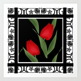 And I have spring . Art Print