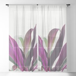 Boat Lily Sheer Curtain