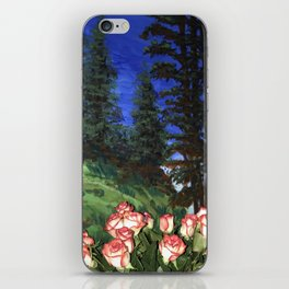 Wild Roses in the Forest iPhone Skin