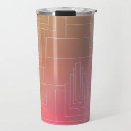 Art Deco sunset Travel Mug