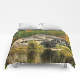 A Mabry Mill Autumn Comforters
