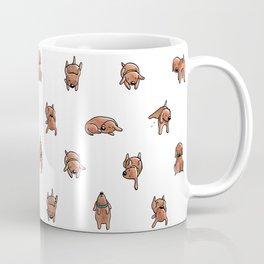 Wooferland: Wooferdog pattern Coffee Mug