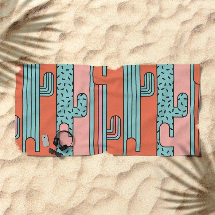 EL CACTO (PRINT) Beach Towel
