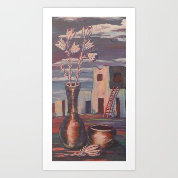 Peaceful Pueblo Kunstdrucke