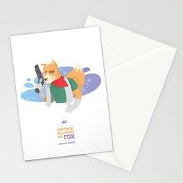 Fox McCloud | Nintendo All-Stars #3 Stationery Cards