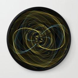 Yellow Ribbons Wall Clock