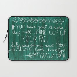 Good Thoughts Laptop Sleeve