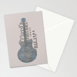 Rubin & Floyd's vintage guitar shop Stationery Cards