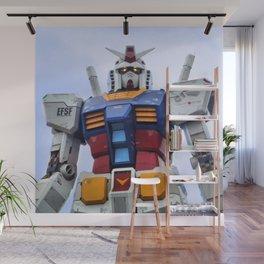 Gundam Stare Wall Mural