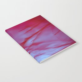 Pink Tree Blur Notebook