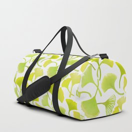 First Day of Autumn Ginkgo Leaves Duffle Bag