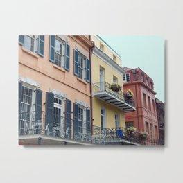 chasing balconies Metal Print