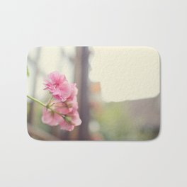 Blossoms in in autumn time Bath Mat