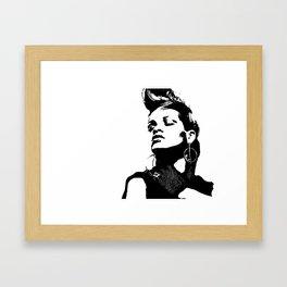 Rihanna. Framed Art Print