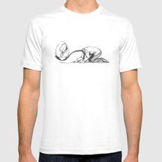 Paternity White SMALL Mens Fitted Tee