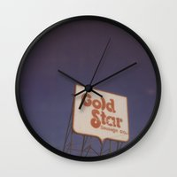 denver Wall Clocks featuring Denver by Kristine Ridley