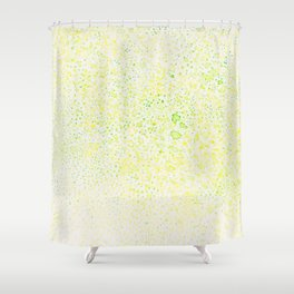 Sound of the beginning and the end Shower Curtain