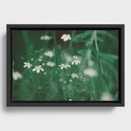 take a moment Framed Canvas