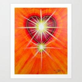 Love is... Light Art Print