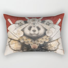 Panda Samurai Rectangular Pillow
