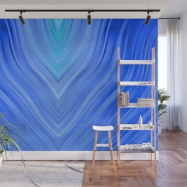 stripes wave pattern 3 c80 Wall Mural