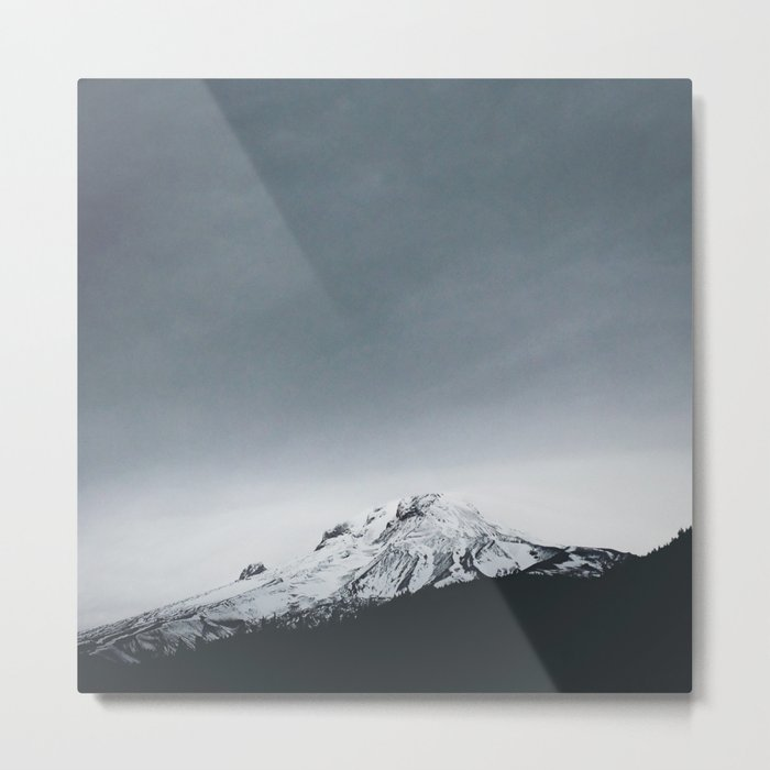 Mt. Hood x Oregon Metal Print