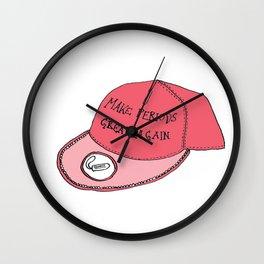 Make Periods Great Again Wall Clock