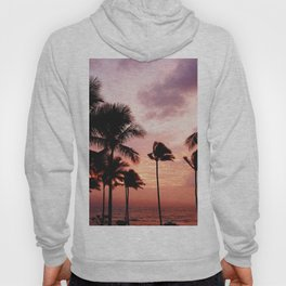 Palm Tree Sunset Hoody