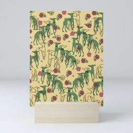 Greyhounds and Roses Mini Art Print
