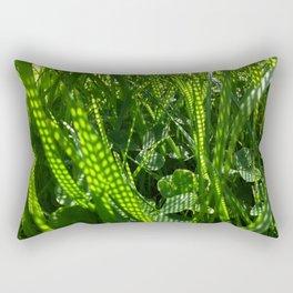 Grass Dots Rectangular Pillow